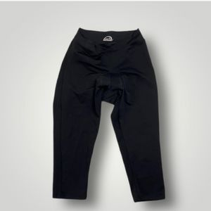 Performance Cropped Padded Cycling Leggings